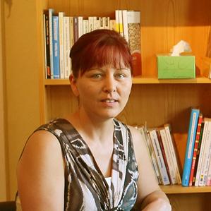 Mitarbeiterin der Sozialpsychologischen Beratungsstelle für Schwangere und Familien, Beeskow