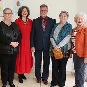 mit Staatssekretärin Almuth Hartwig-Tiedt und Bürgermeister Jens-Peter Golde