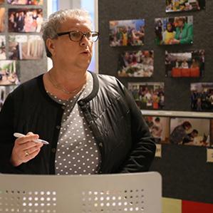 ist seit mehr als zwei Jahrzehnten Geschäftsführerin des Brandenburge Landesverbandes.