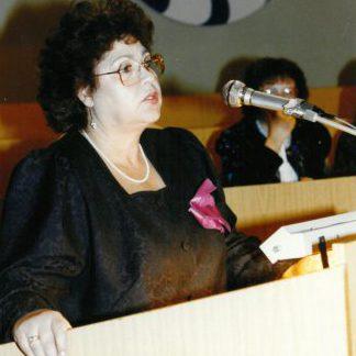 die Schriftstellerin Gisela Steineckert