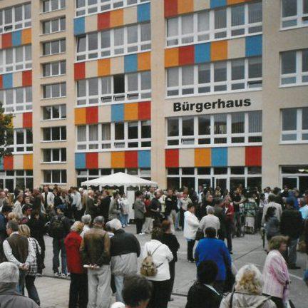 Einzug der Landesgeschäftsstelle und des Frauen-und Familienzentrums ins Bürgerhaus Hohenstücken in Brandenburg
